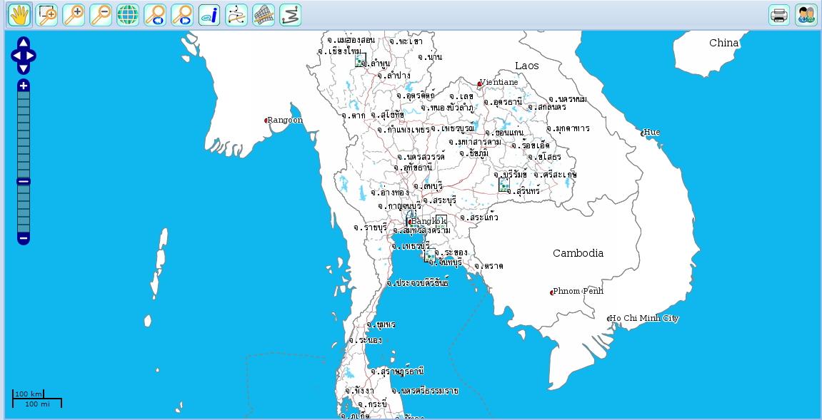 แผนที่ออนไลน์ DeeMap