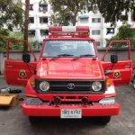 ระบบสารสนเทศและติดตั้งระบบกล้อง DVR  แก่รถดับเพลิงและกู้ภัย