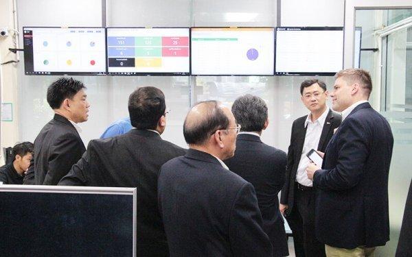 ผู้บริหาร Yazaki Energy Systems Europe & India เยี่ยมชม DTC