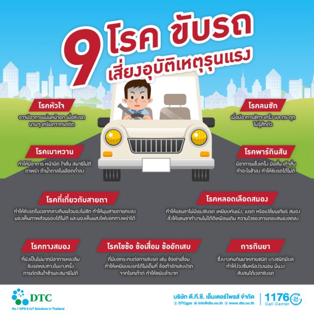 9-โรคต้องห้ามขับเสี่ยงอุบัติเหตุรุนแรง