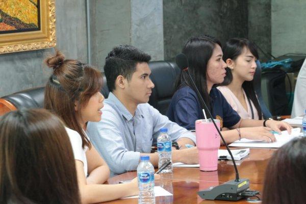 มหาวิทยาลัยหอการค้าไทย คณะบริหารธุรกิจ หลักสูตรบริหารธุรกิจมหาบัณฑิต CEO MBA เยี่ยมชมธุรกิจ DTC Enterprise