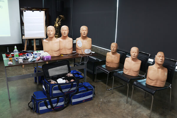 DTC-จัดอบรมปฐมพยาบาลเบื้องต้น