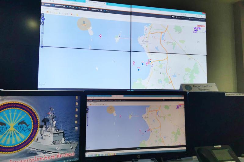 DTC พัฒนาระบบควบคุมตำแหน่งแผนที่และเส้นทางการเดินเรือ