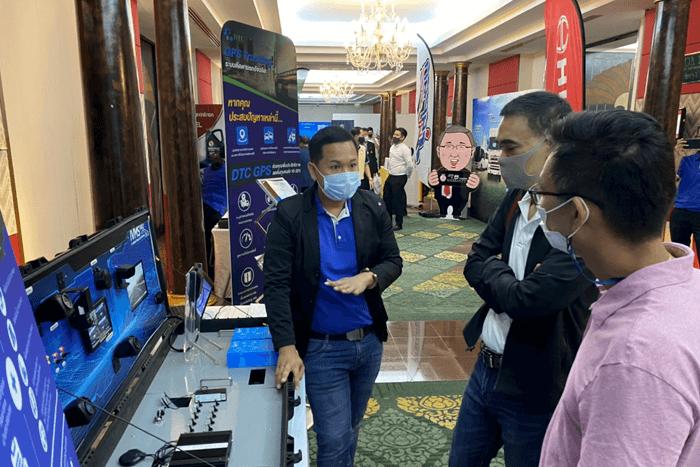 DTC Enterprise นำนวัตกรรมร่วมแสดงในงาน จัดประชุมใหญ่สามัญประจำปี 2563 สมาคมผู้ประกอบการรถขนส่งทั่วไทย (สปข.)