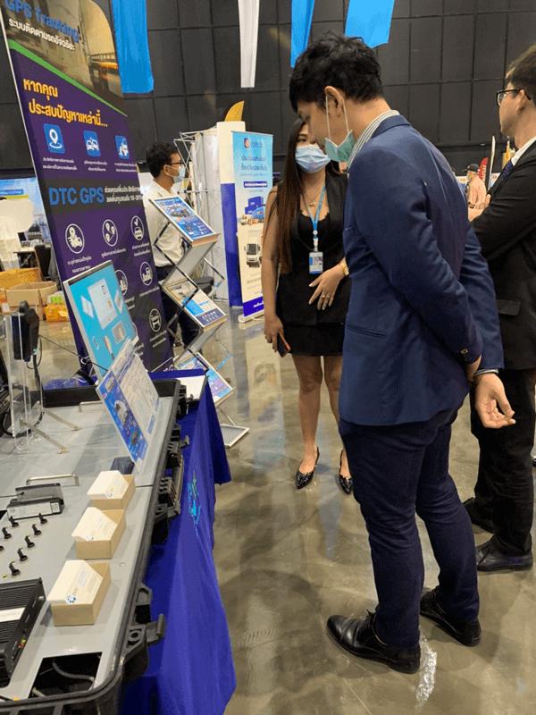 DTC Enterprise ผู้นำด้านจีพีเอสและเทคโนโลยี นำนวัตกรรมไปแสดงในงาน สหพันธ์การขนส่งทางบกแห่งประเทศไทย